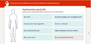 Psychosociale zorg bij IBD